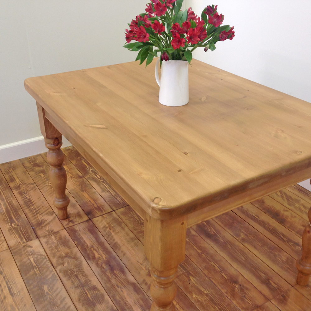 4 X 3 Victorian Farmhouse Table Wolds Furniture Company