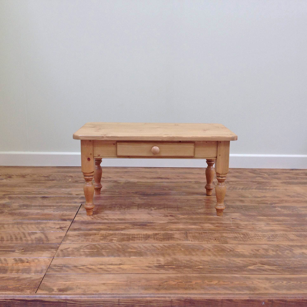 Pine coffee table with drawer wolds furniture company Pine coffee table with drawers