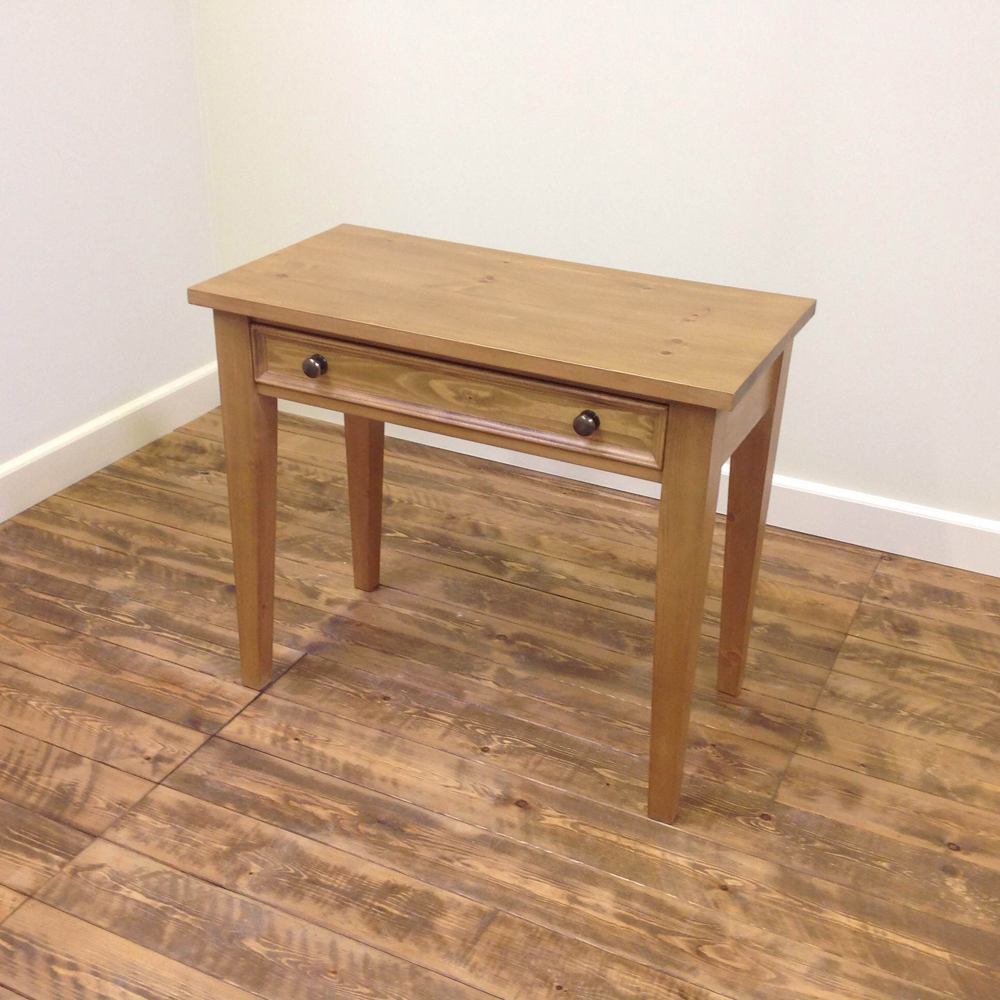 pine-dressing-table-tapered-leg-side-view