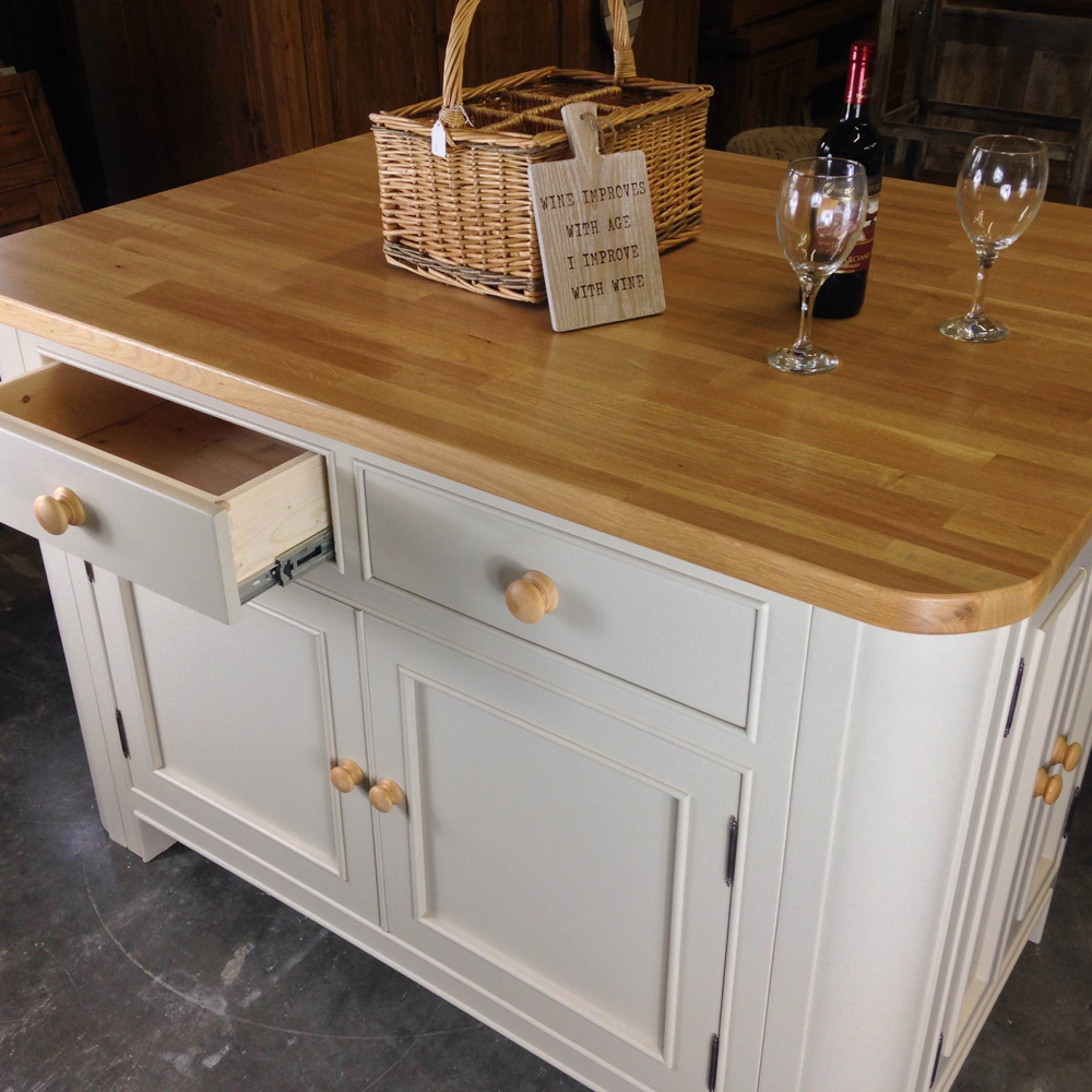 Kitchen Island Dimensions Uk: Wolds Furniture Company