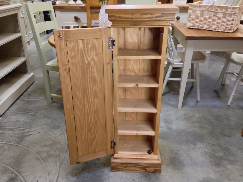 Rustic Pine Cd Tower Wolds Furniture Company