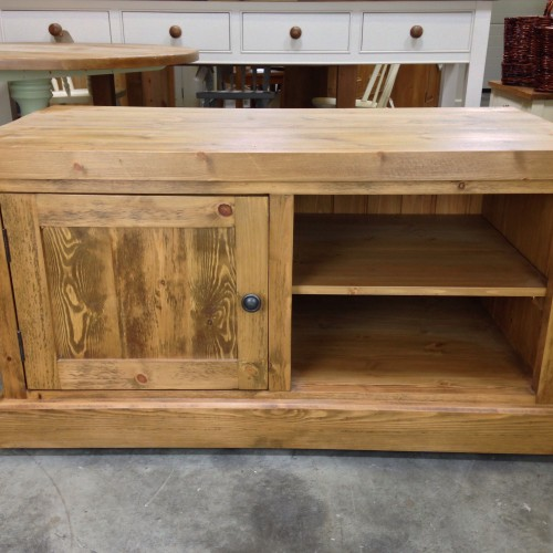 rustic-pine-tv-unit