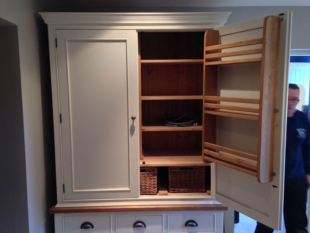 Bespoke Kitchen Larder Unit Wolds Furniture Company
